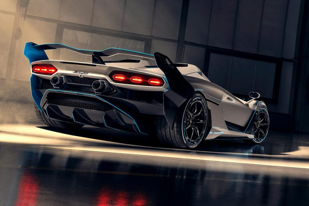 Lamborghini SC20 Open-top Track Car