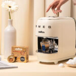 Lavazza A Modo Mio SMEG Coffee Machine Oozes With SMEG Vibes