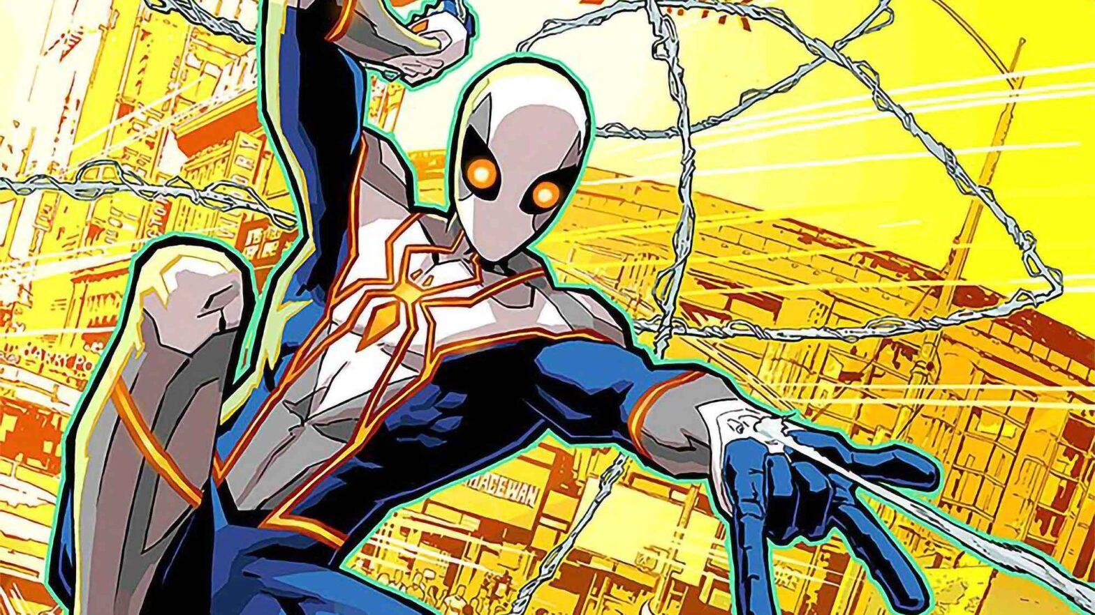 Marvel Spider-Man Gets New Costume