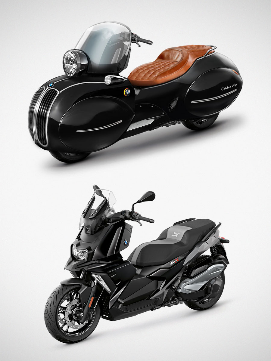 Nmoto Golden Age Kit for BMW C400X Scooter