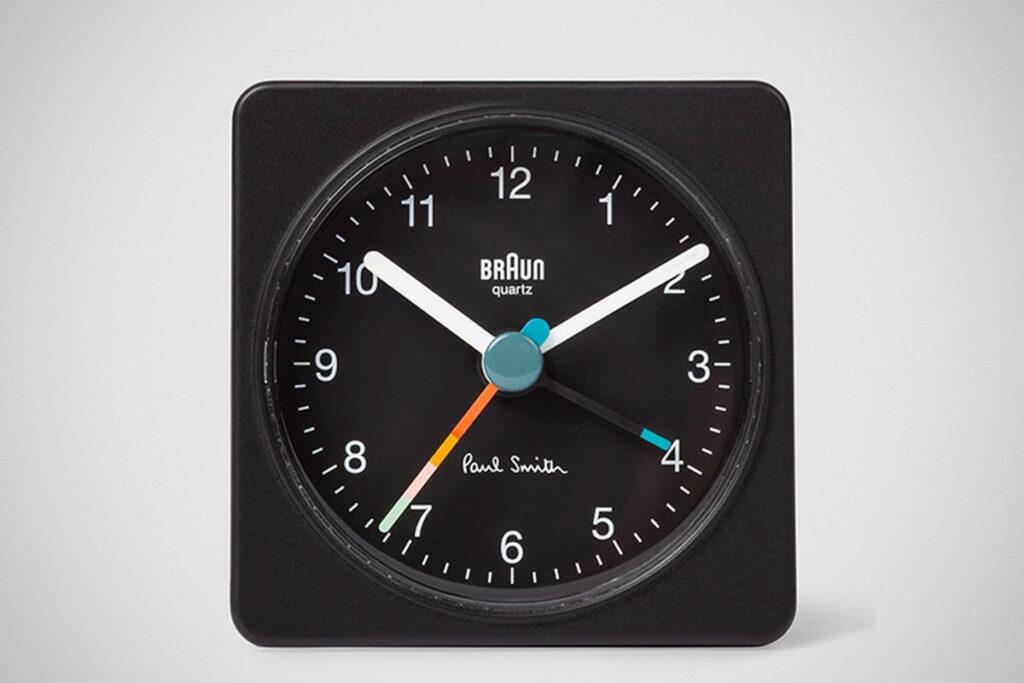 Paul Smith + Braun Travel Alarm Clock