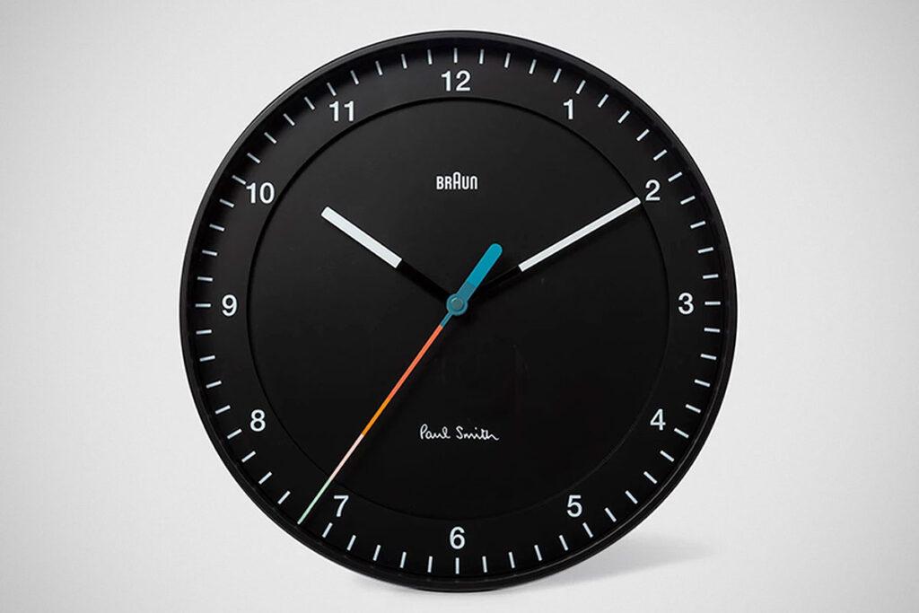 Paul Smith + Braun Wall Clock