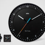 Paul Smith Collaborated With BRAUN For Time Piece And Clocks