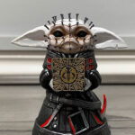 Pinhead Baby Yoda Mini Statue: Still Adorable, But In A Hellish Way