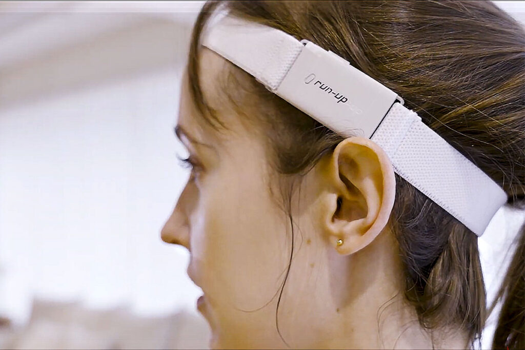 RUN-UP Audio Headband