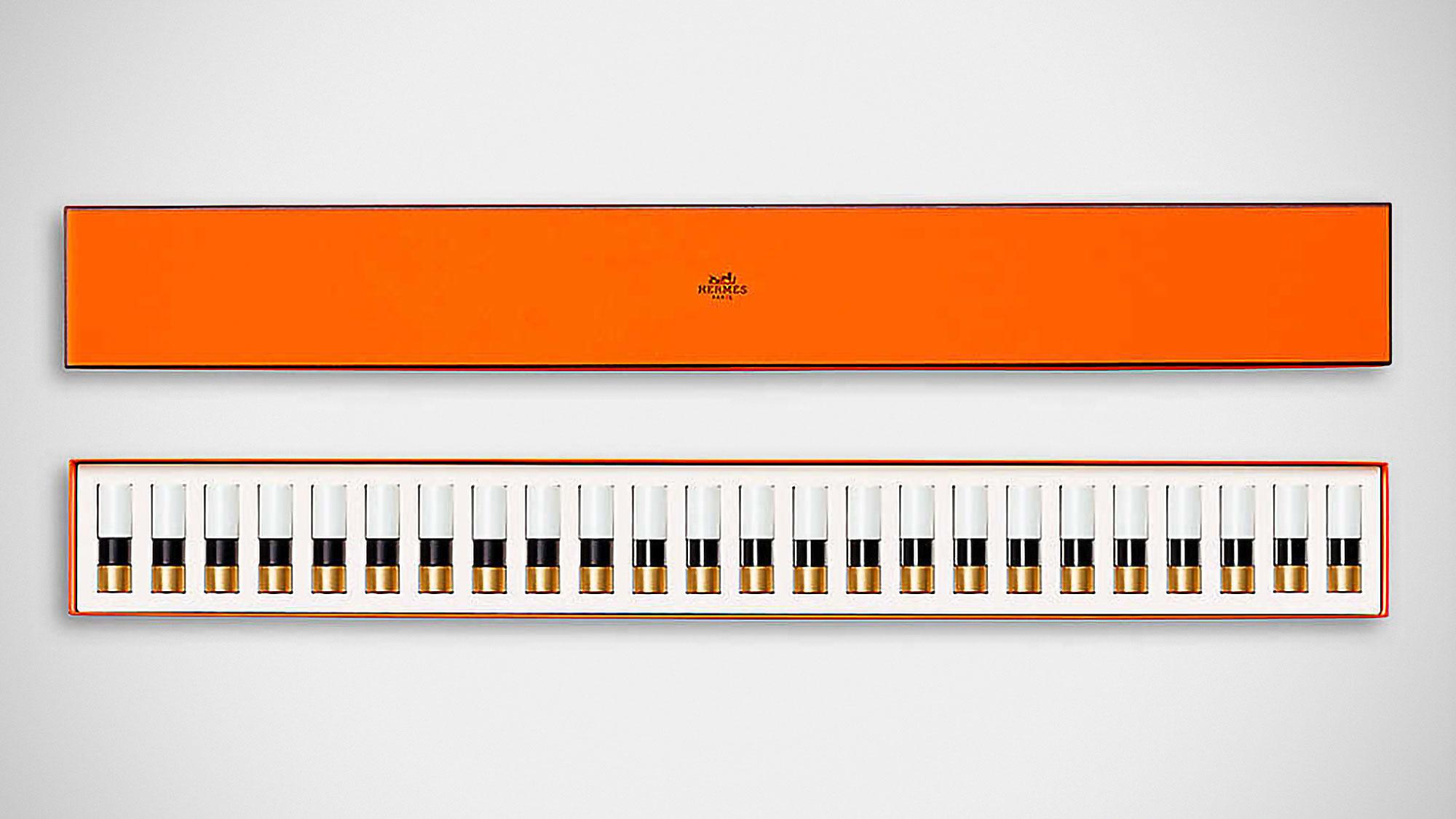 Rouge Hermès 24-color Lipstick Piano Set