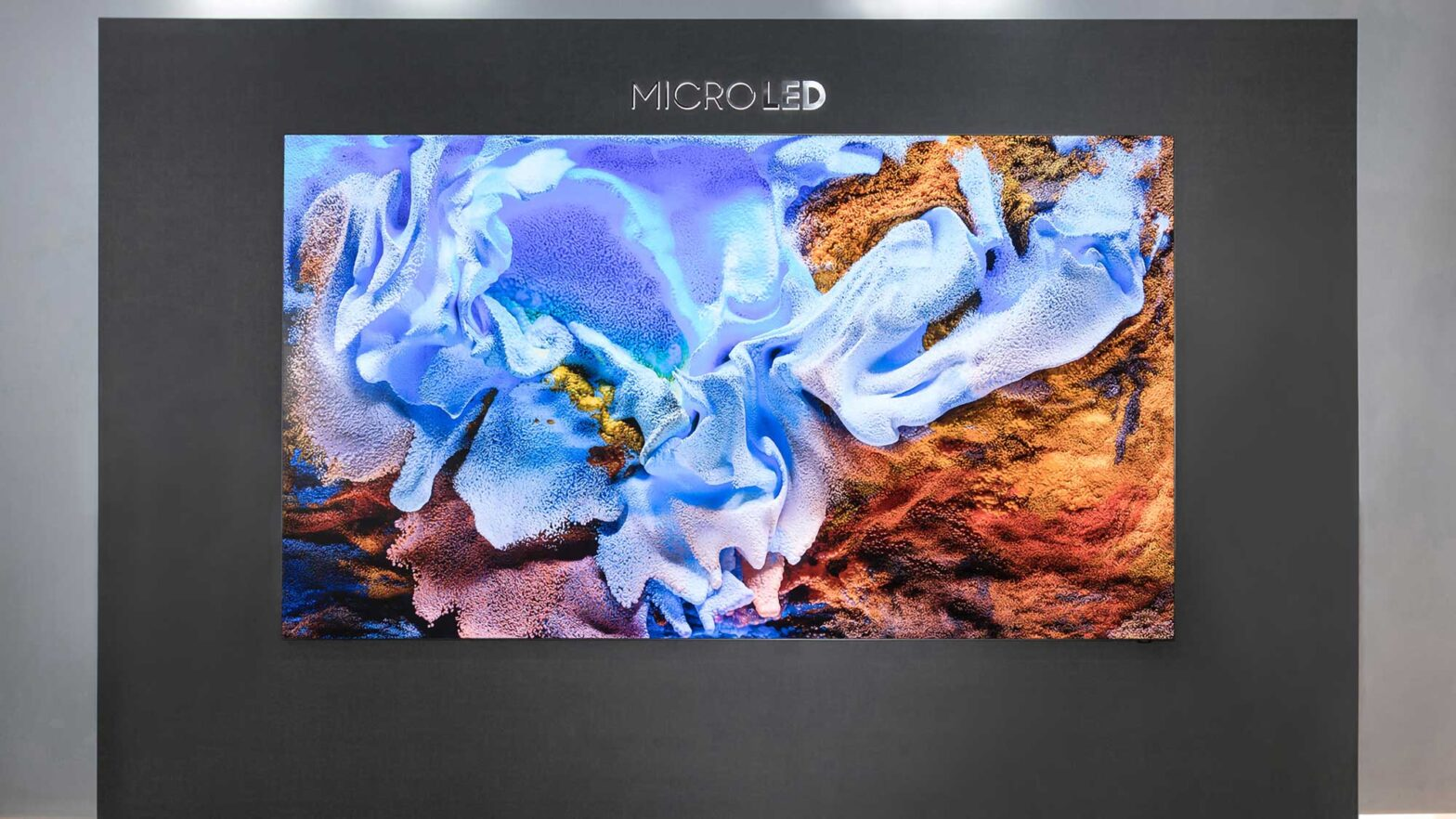 Samsung 110-inch 4K MicroLED TV