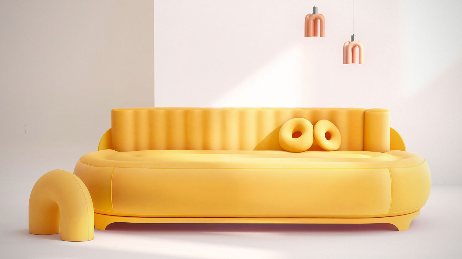 Sofa with Built-in Massager by Dong Dong