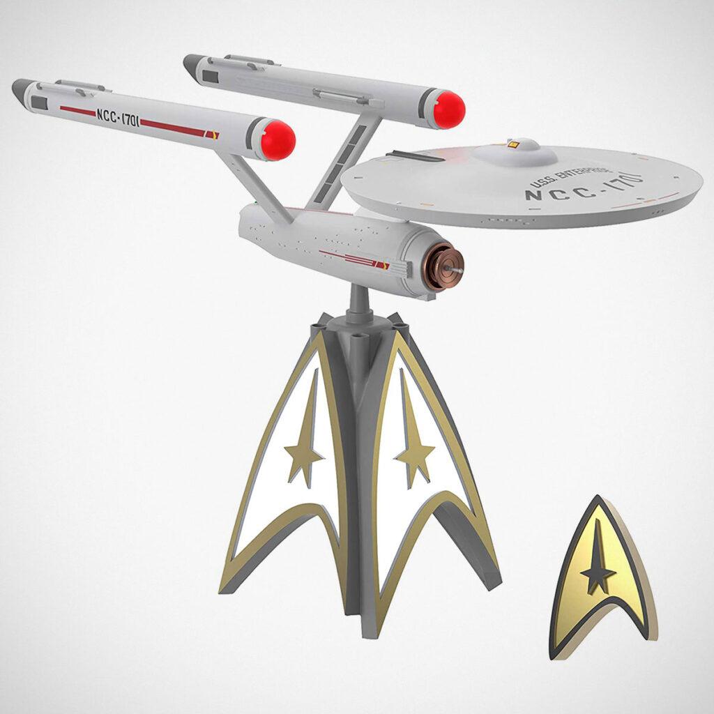 Star Trek USS Enterprise Christmas Tree Topper