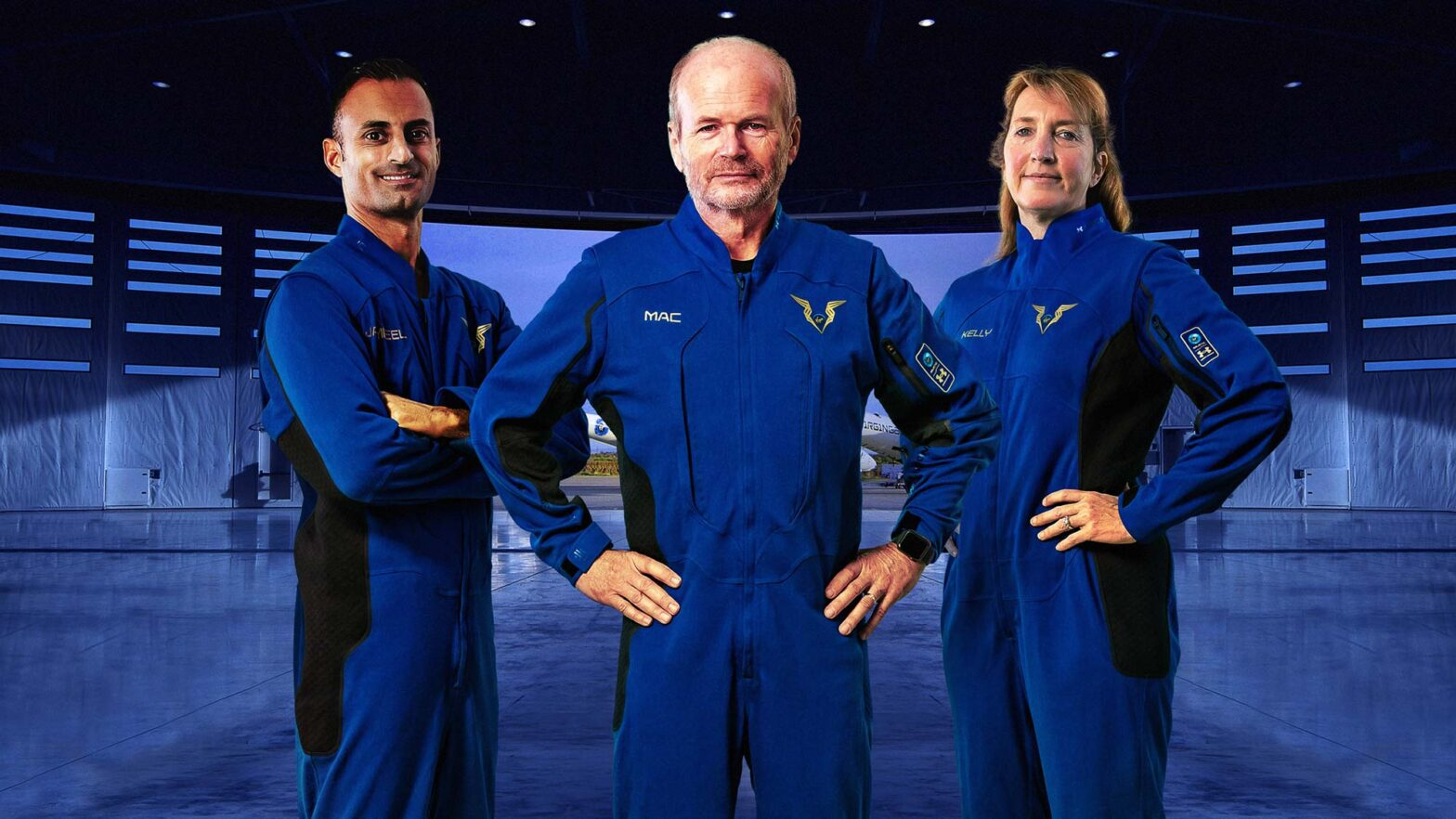 Virgin Galactic Pilot Spacesuits by Under Armour