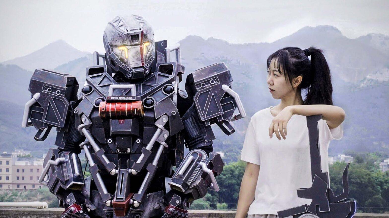 Wearable Robot Suit by Xiao Qian Feng