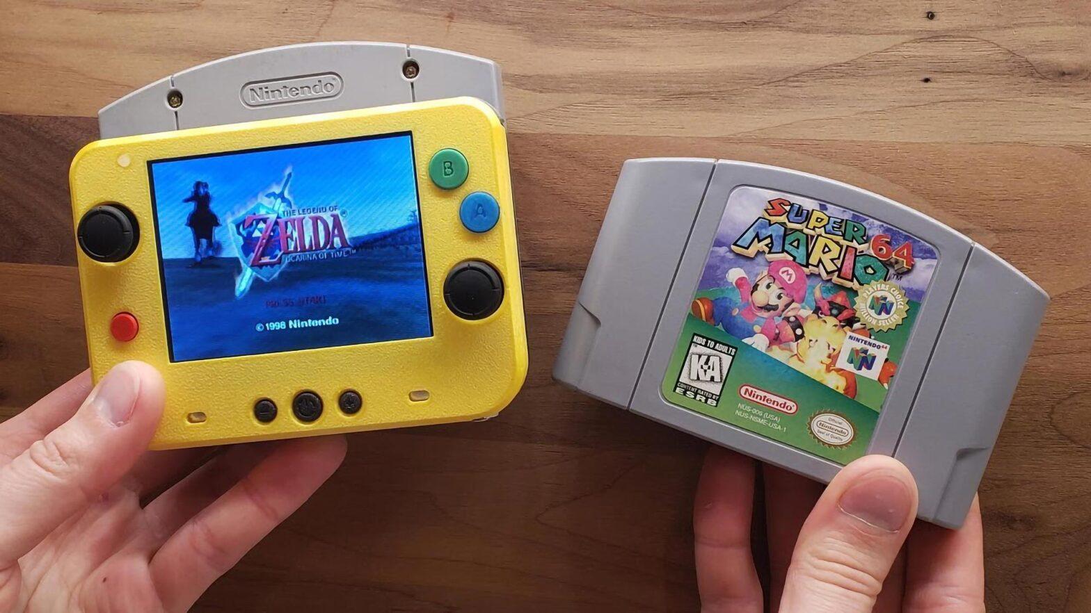 World's Smallest Nintendo 64 Portable by GmanModz