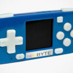 The Controls On This Tiny Handheld Retro Gaming Console Take Up 2/3 Of The Device