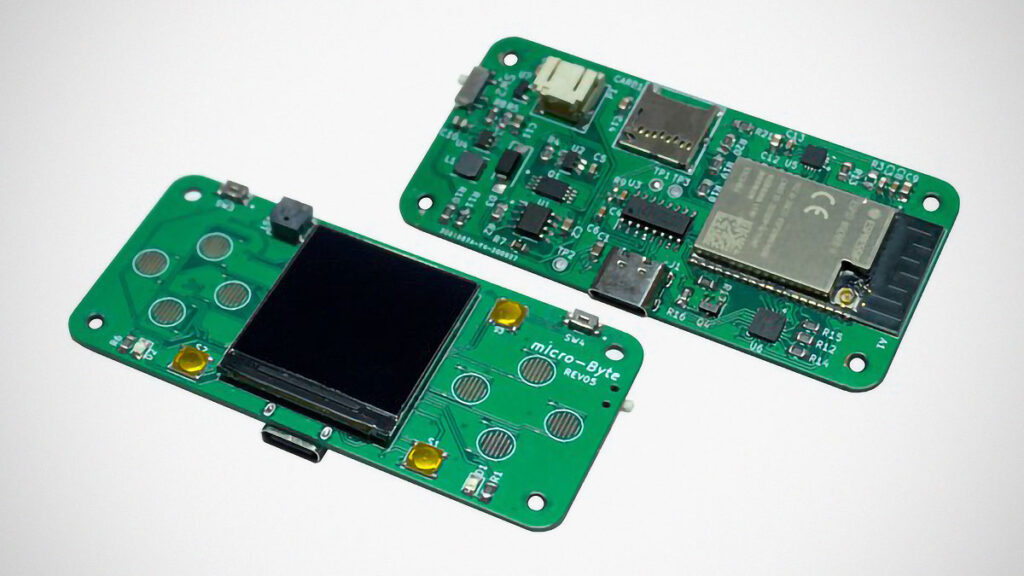 microByte Handheld Retro Gaming Console