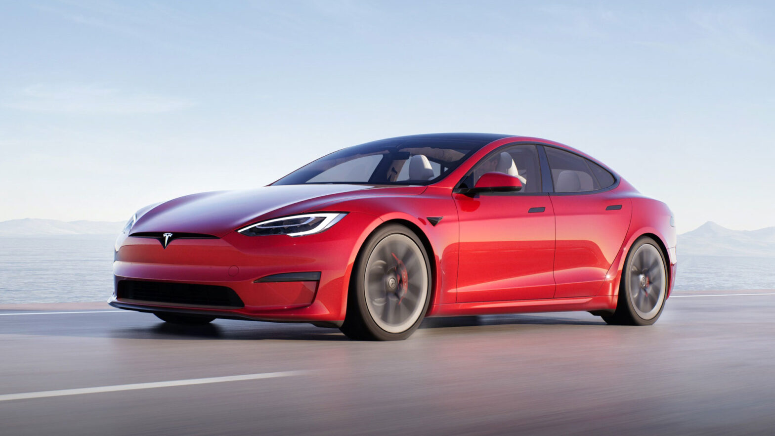2022 Tesla Model S Electric Vehicle