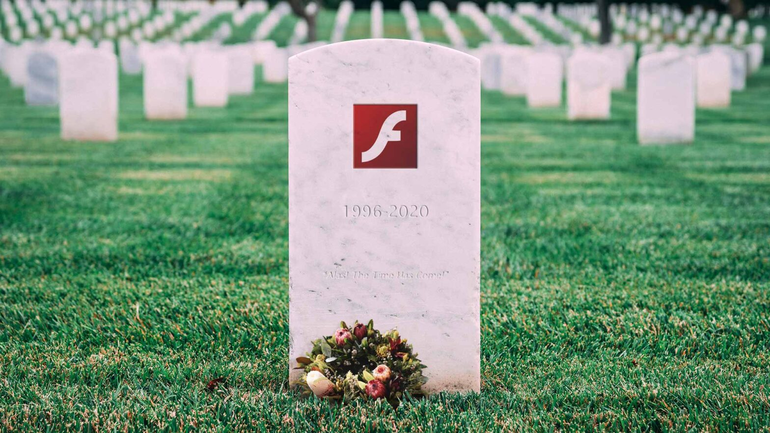 Adobe Flash Is Officially Dead