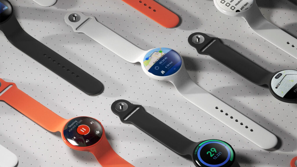 Concept Google Pixel Watch by James Tsai