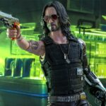 Keanu Reeves's Appearance Perfectly Replicated In This  <em>Cyberpunk 2077</em> Johnny Silverhand 1/6th Figure