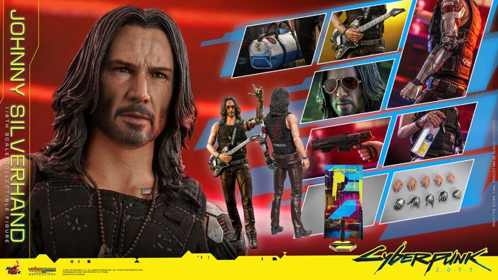 Cyberpunk 2077 Jonny Silverhand 1/6th Figure