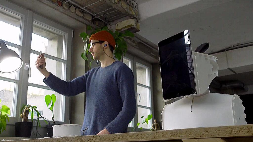 DIY Telepresence Robot by Lenny3000