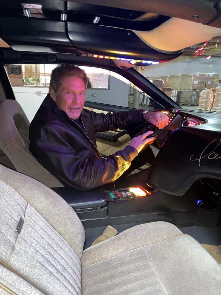 David Hasselhoff Personal Knight Rider Car