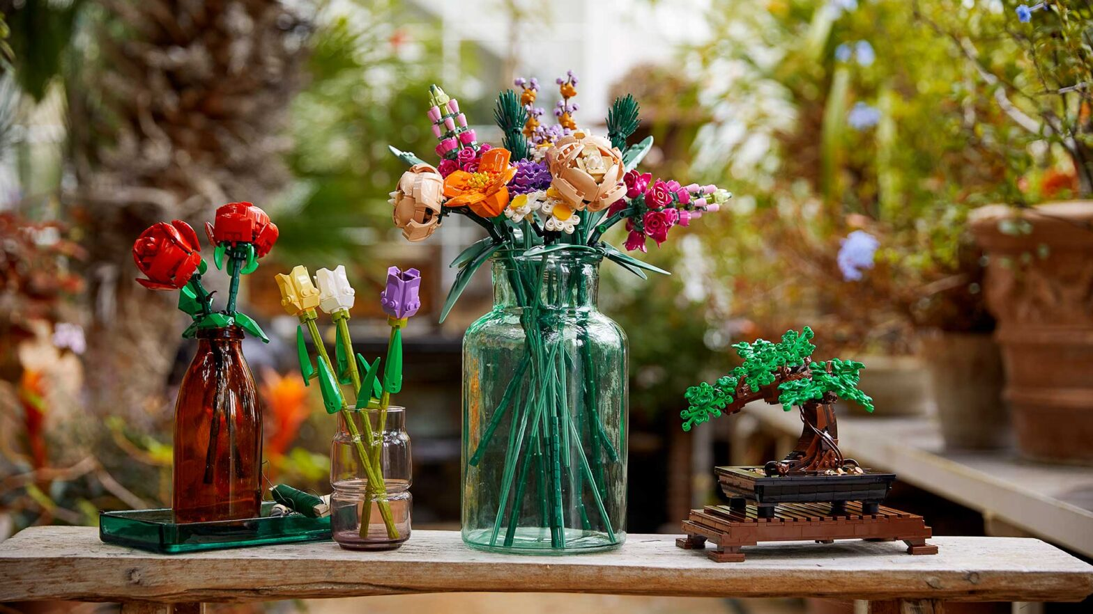 Decorative LEGO Botanical Collection