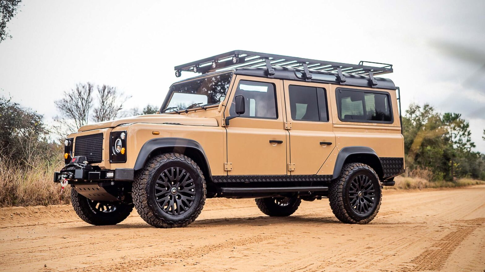 E.C.D. Automotive Design Land Rover Series IIA