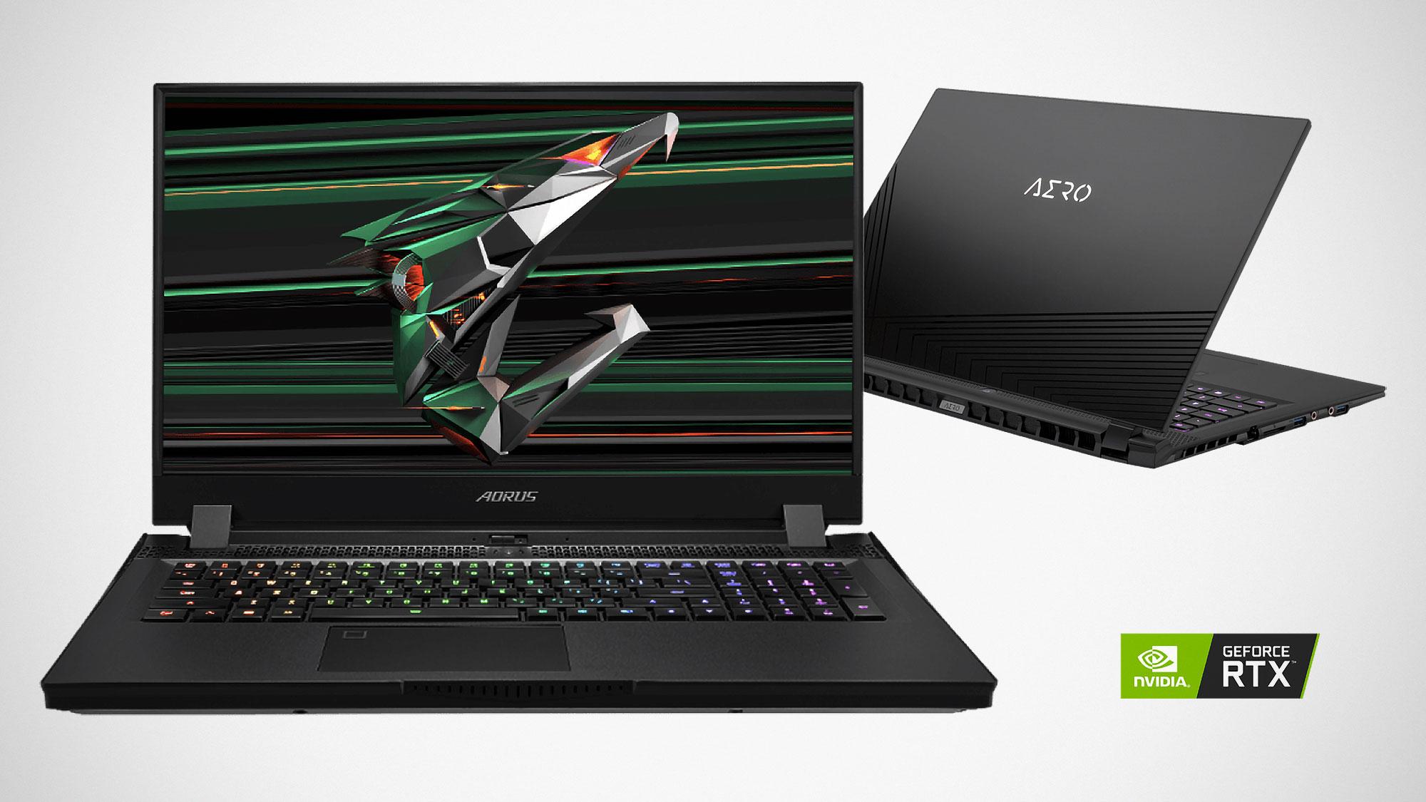 GIGABYTE AORUS RTX 30 Series Laptops