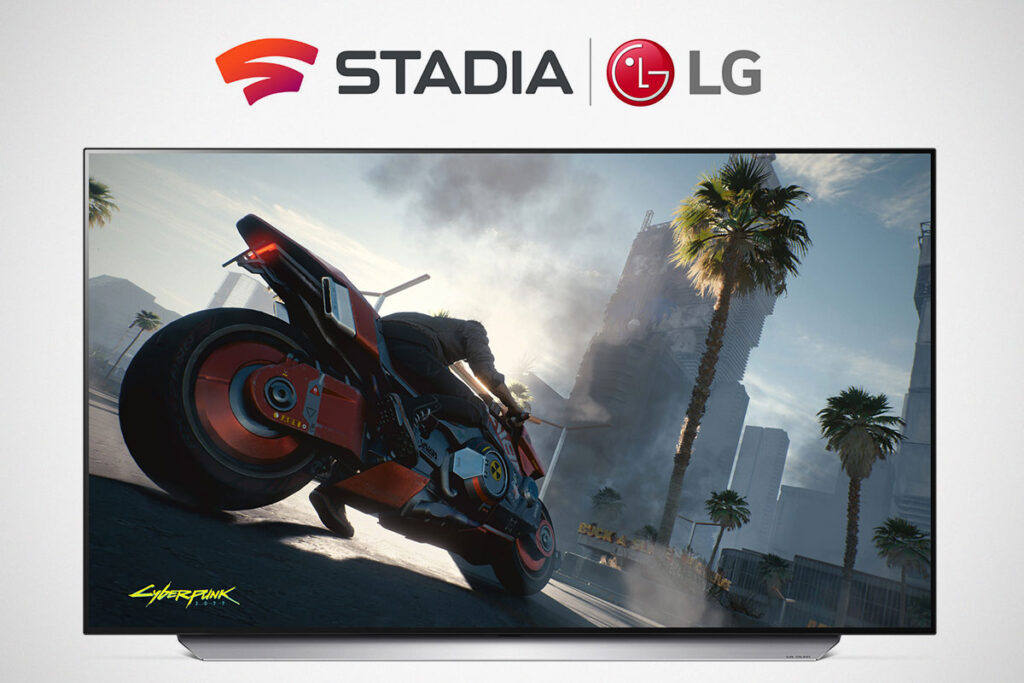 Google Stadia on LG webOS Smart TVs