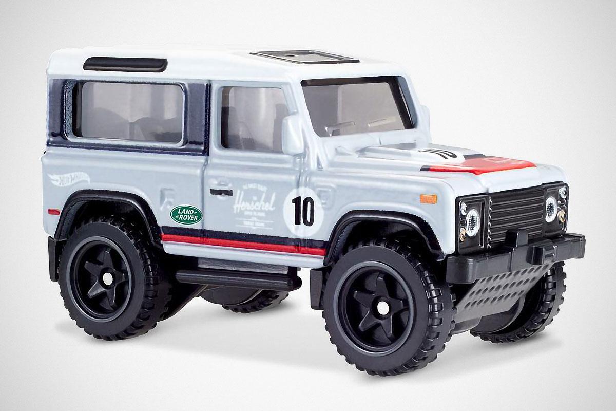 Herschel x Hot Wheels Land Rover Defender 90