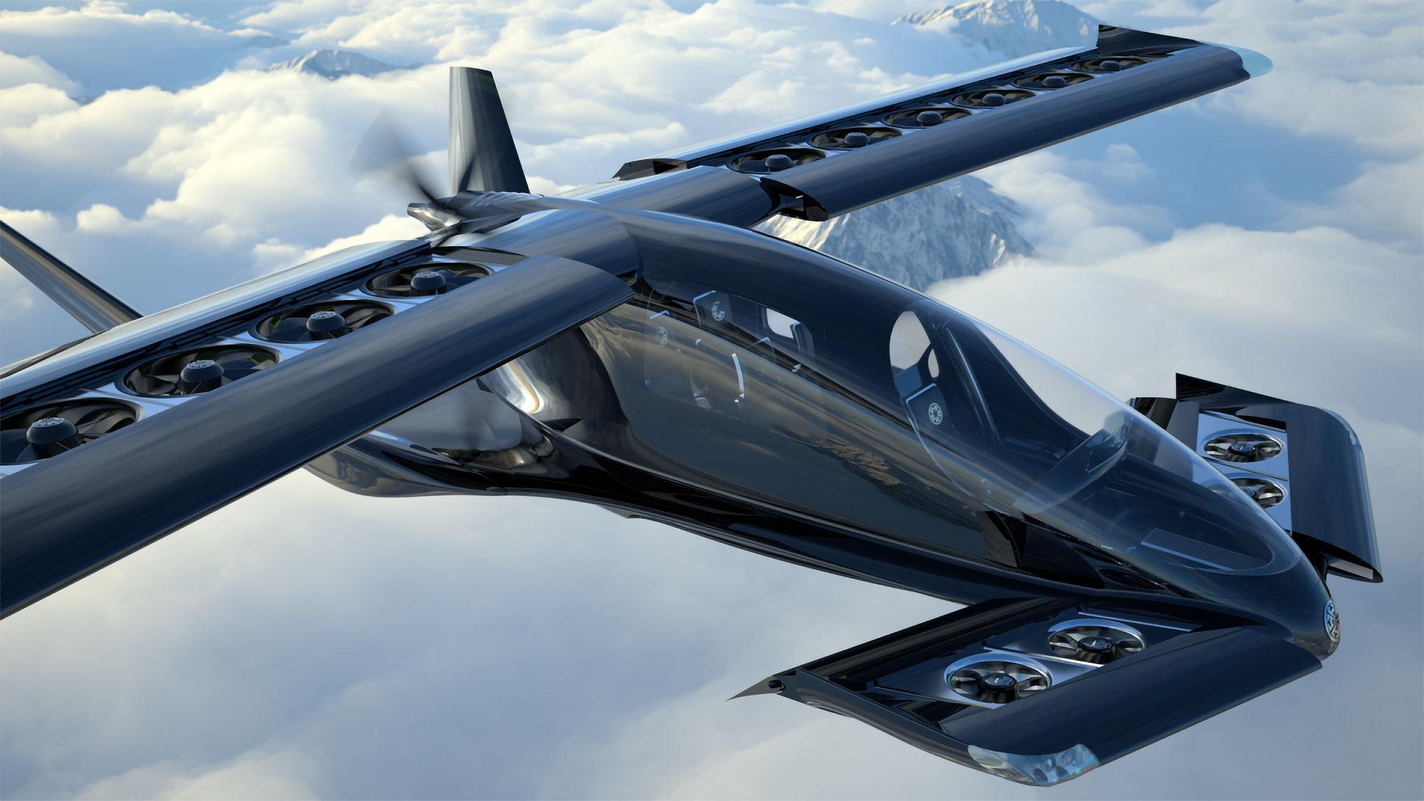 Horizon Aircraft Cavorite X5 eVTOL