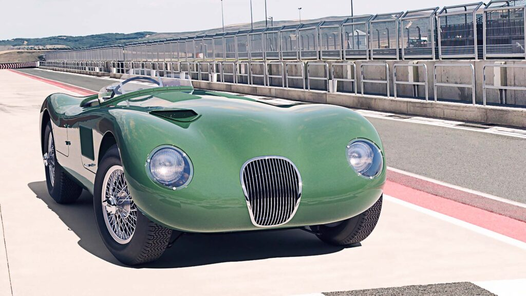 Jaguar C-type Continuation Car