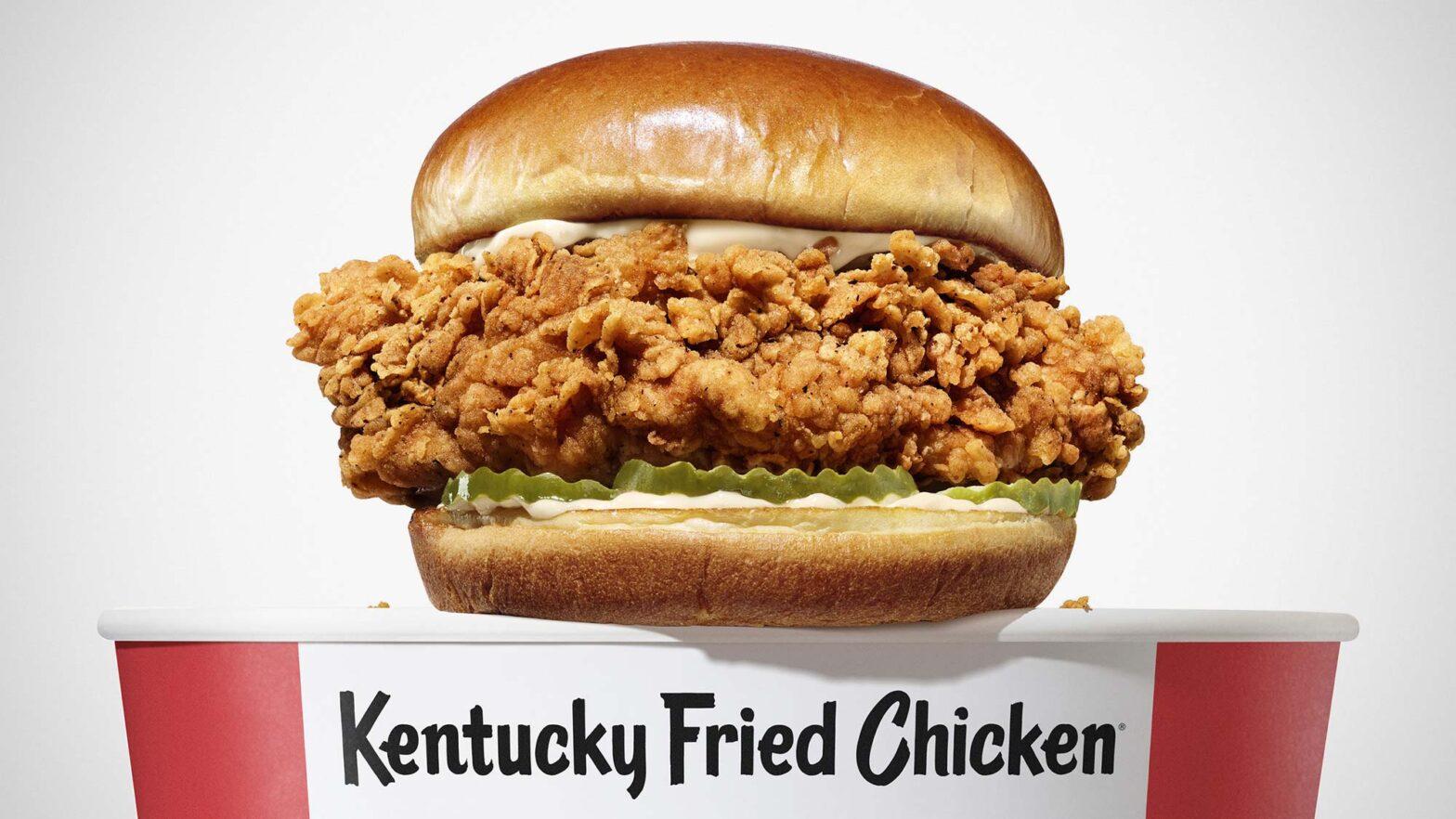 KFC Chicken Sandwich for 2021