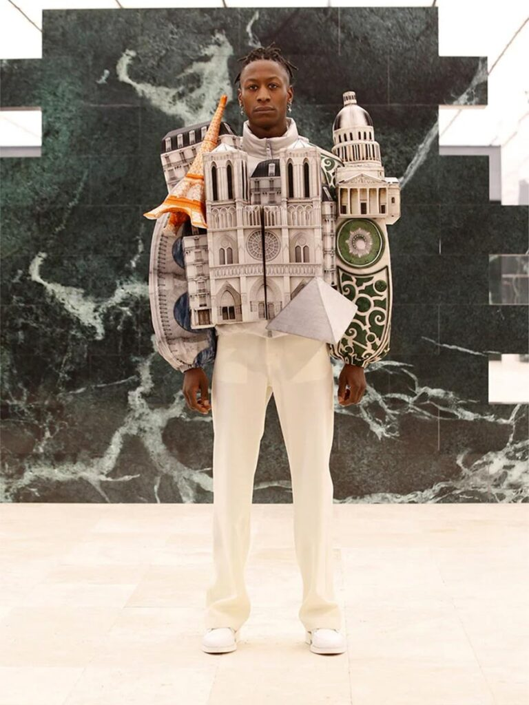 Louis Vuitton Wearable Cityscape Jackets