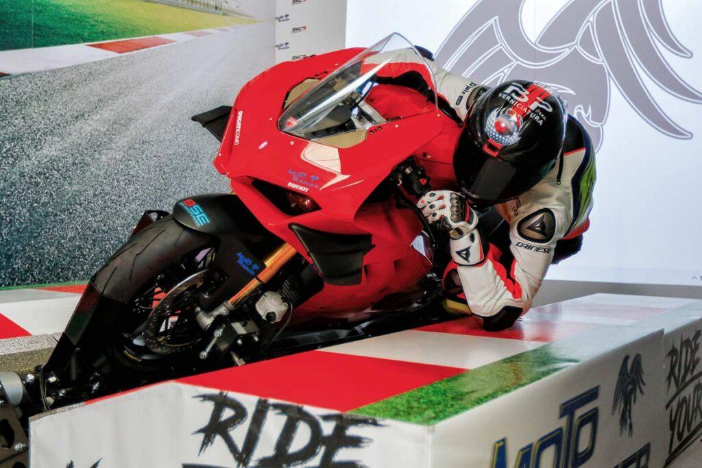 Moto Trainer Motorcycle Simulator