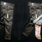These Pair Of Jeans Is Lined With Airbags To Protect Motorcyclists' Lower Body In A Fall
