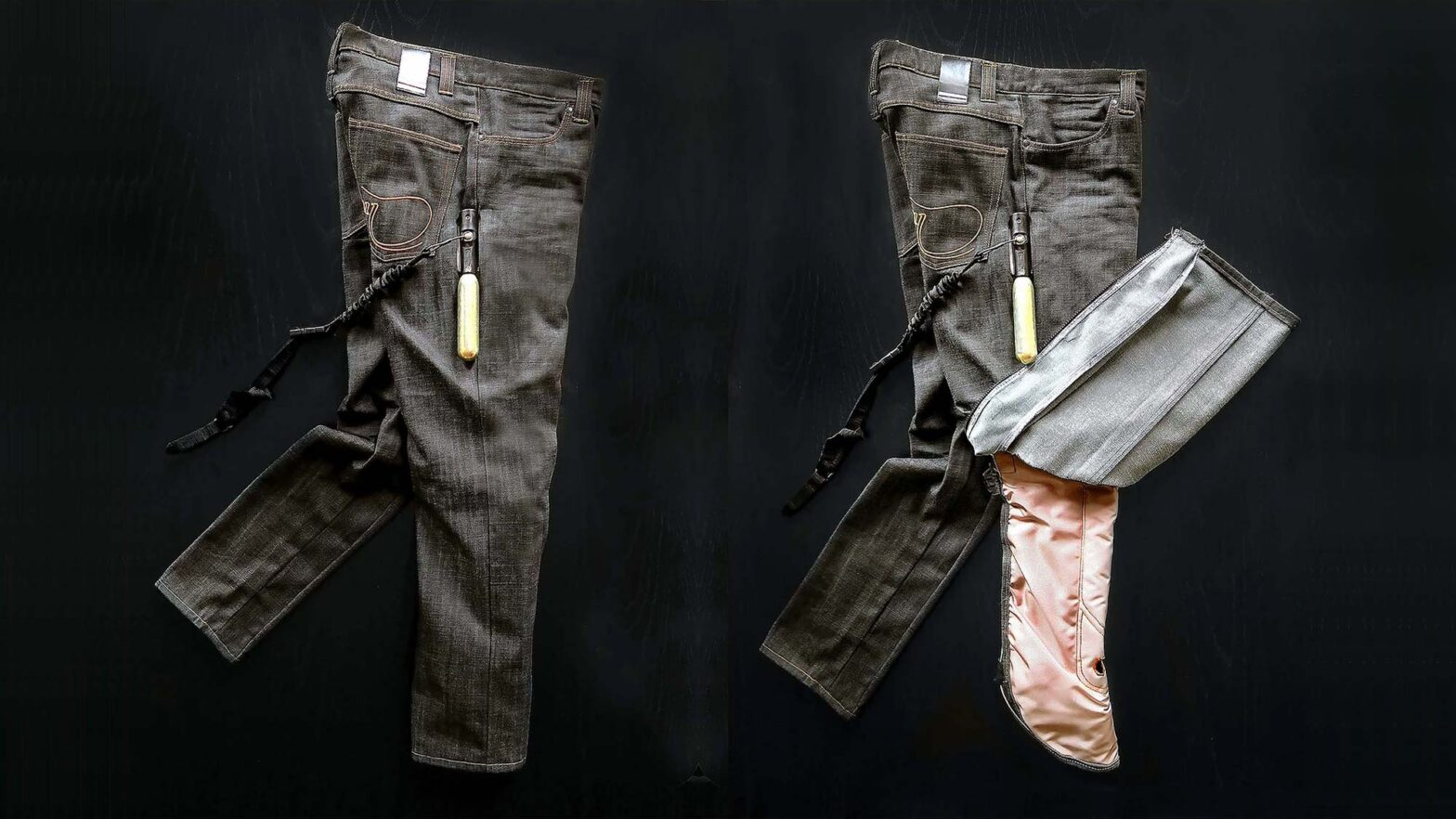 Motorcycle Airbag Jeans by Airbag Inside Sweden