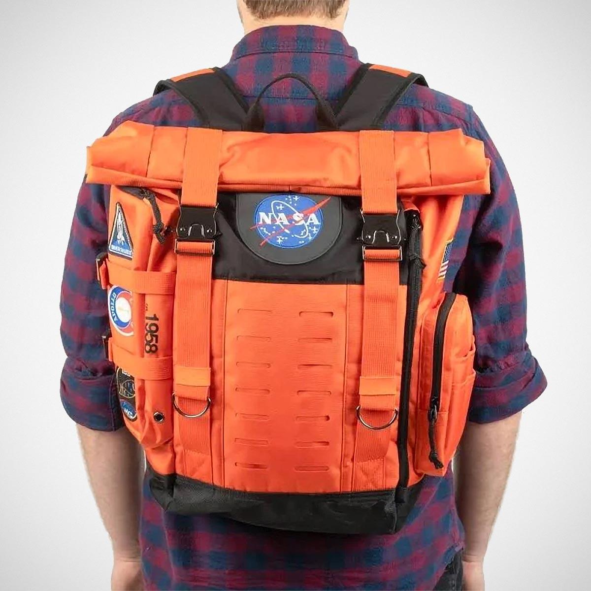 NASA Flight Suit Rolltop Backpack
