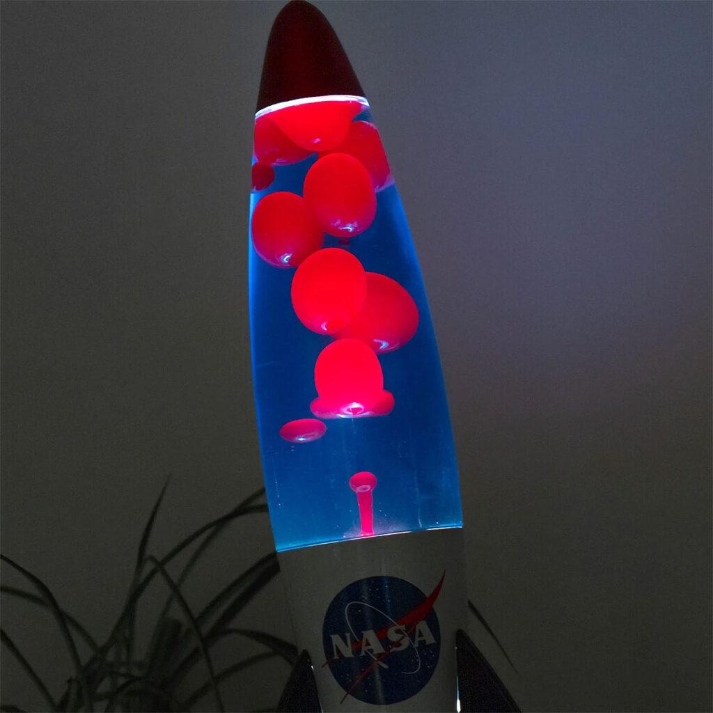 NASA Rocket Lava Lamp from Firebox