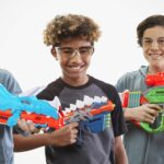 New NERF DinoSquad Blasters' Dino Deco Is A Refreshing Break From The Usual High-tech Aesthetics