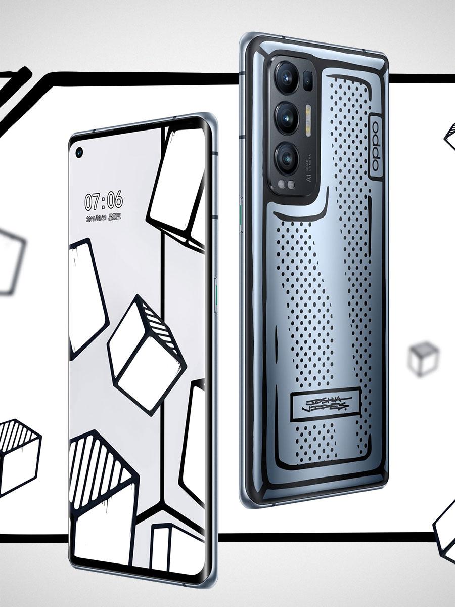 Oppo Reno5 Pro+ Artist Limited Edition Smartphone