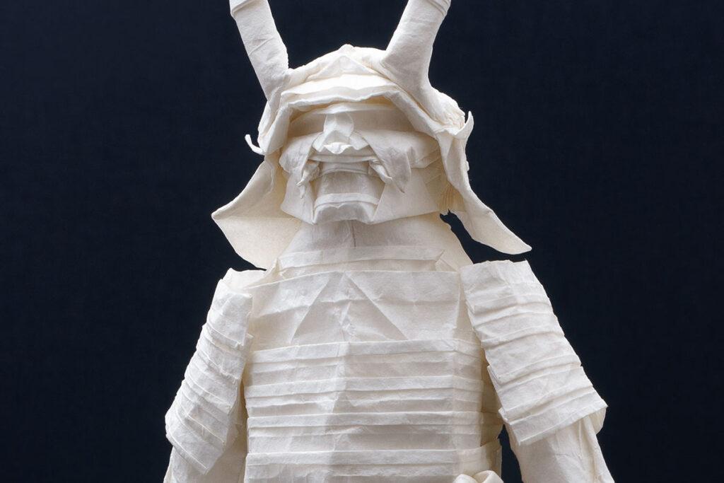 Origami Samurai Warrior by Juho Könkkölä