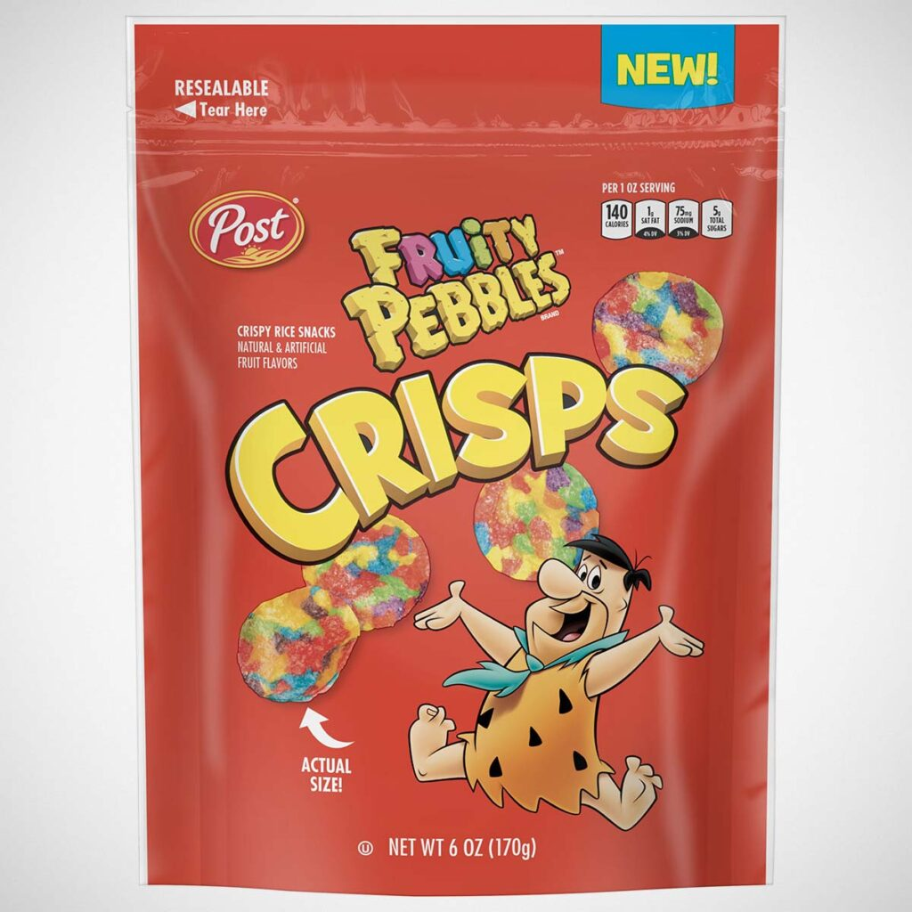 Post PEBBLES Crisps Cereal Snack