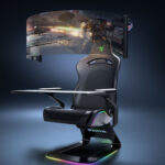 Razer Project Brooklyn Is An Ambitious Gaming Chair With Integrated 60-inch Curved Screen