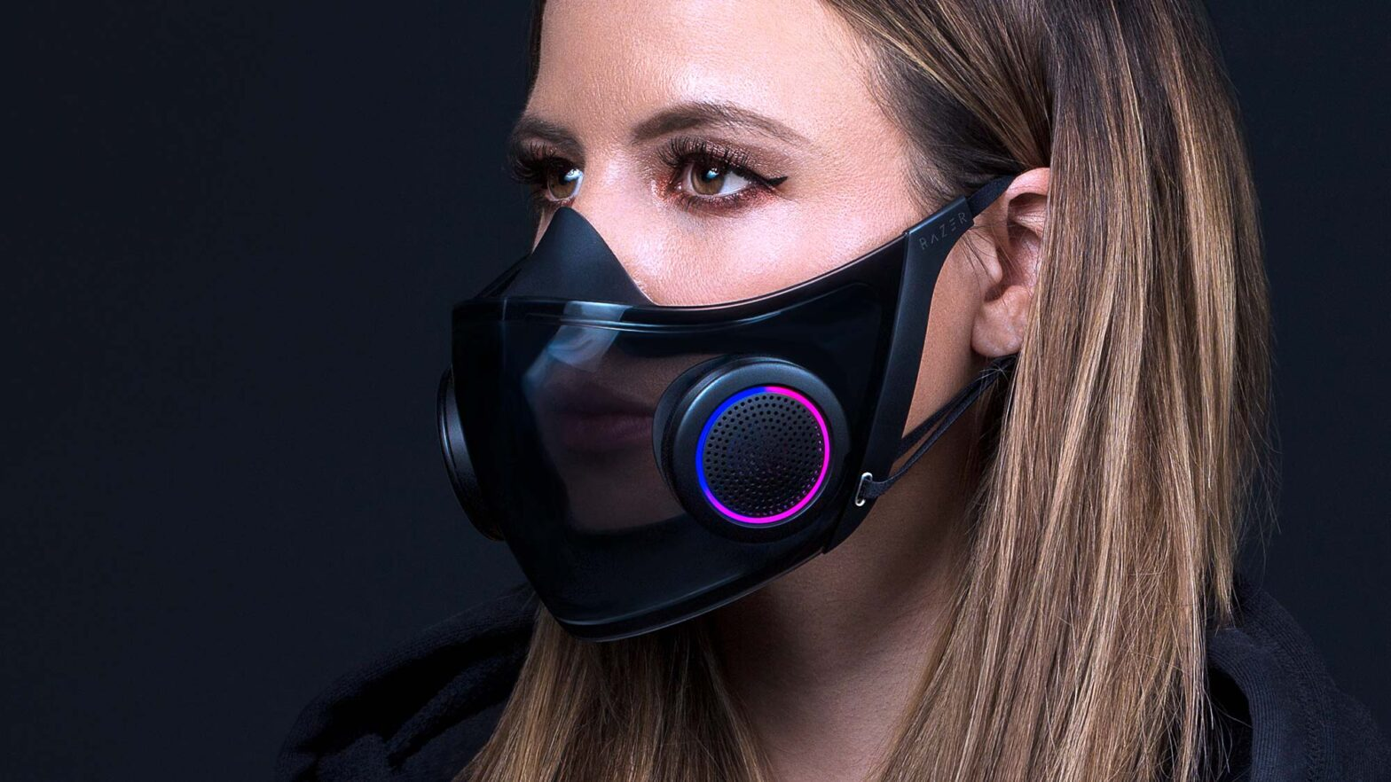 Razer Project Hazel Smart Mask CES 2021