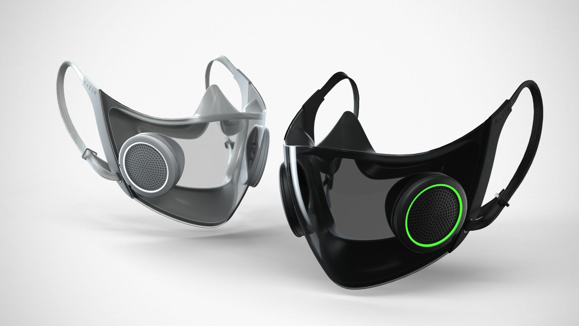 Razer Project Hazel Smart Mask CES 2021
