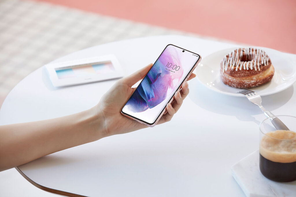 Samsung Galaxy S21 Plus Smartphone
