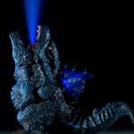 Poster Scene Of <em>Godzilla</em> Blasting Heat Ray Into The Sky Recreated With This New Figure