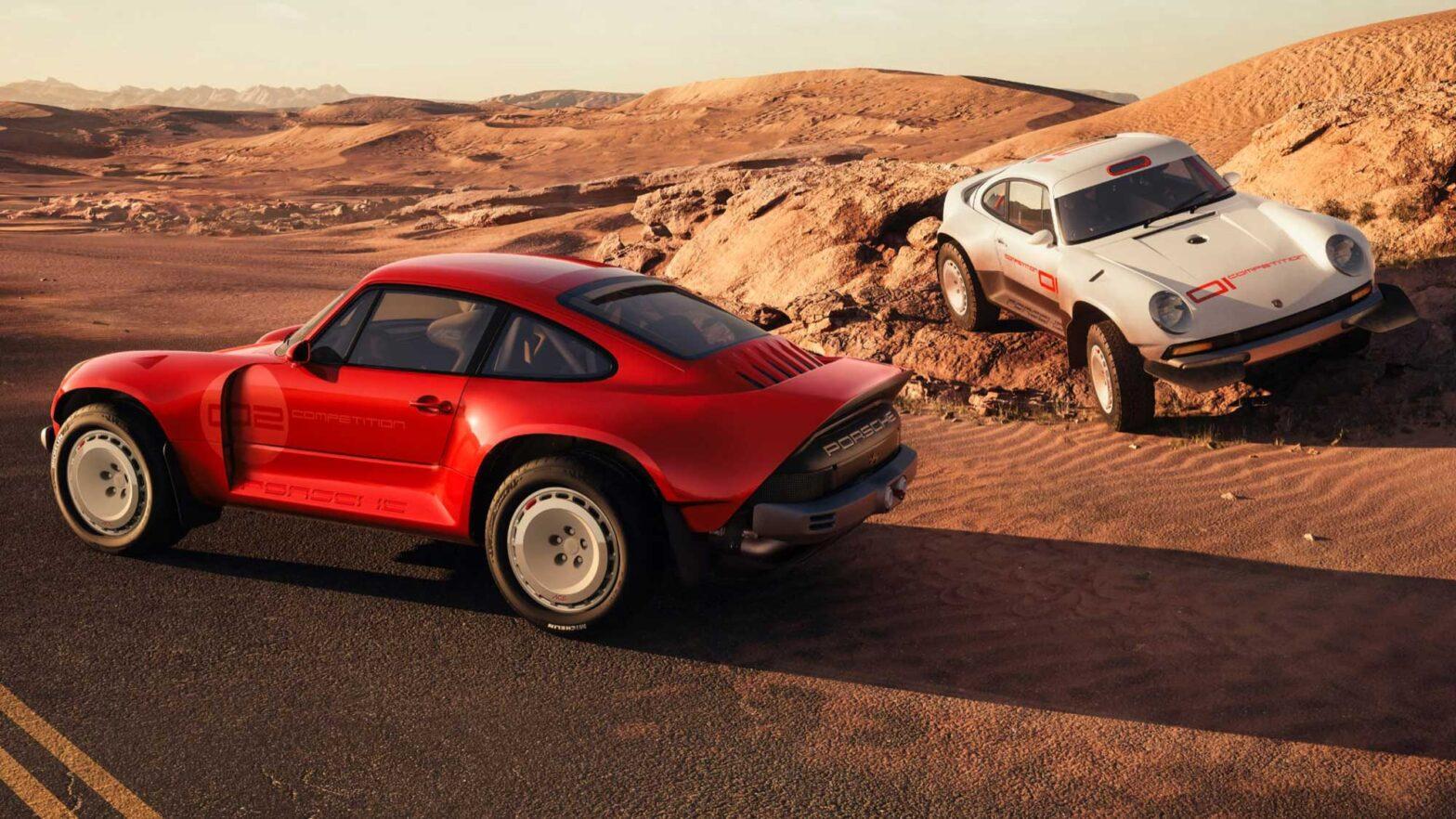 Singer Porsche 911 All-Terrain Competition Study
