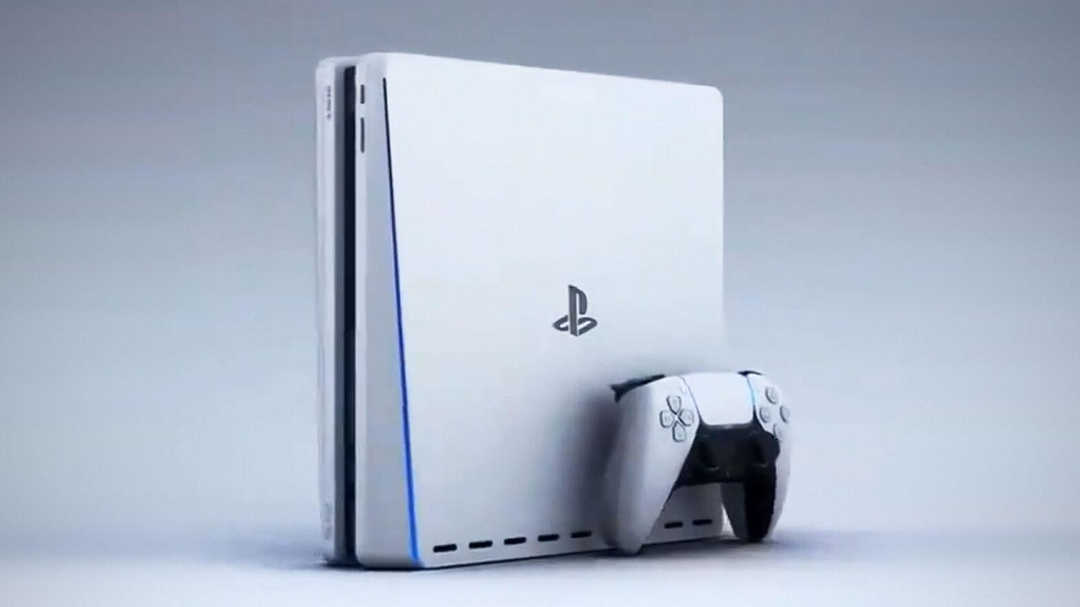 Sony PlayStation 5 Slim Concept Render